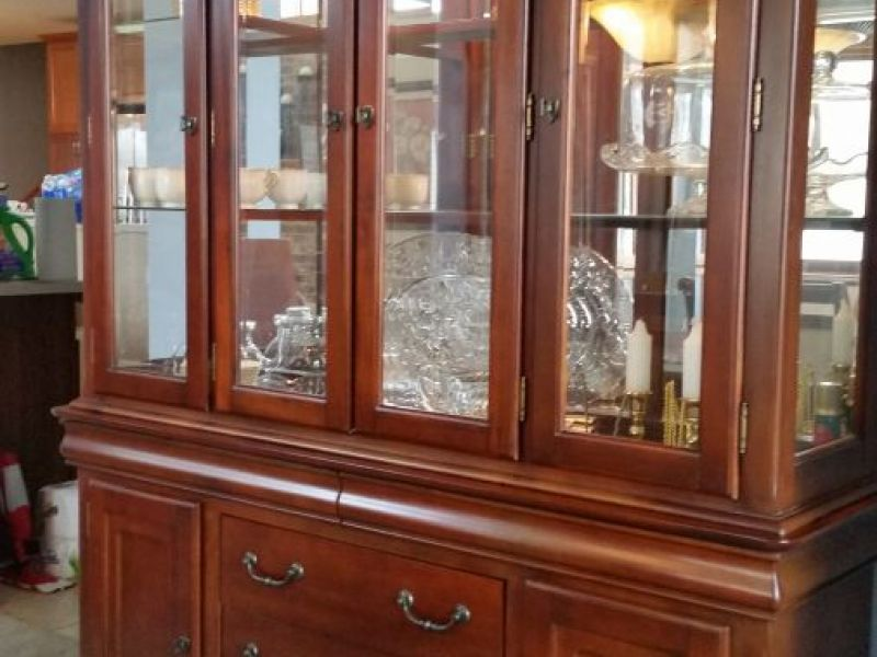Dining Room Set With China Cabinet For Sale New Lenox