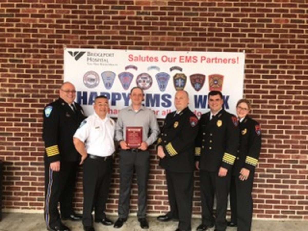 Stratford Paramedic Honored As EMS Provider of the Year – Operations Supervisor
