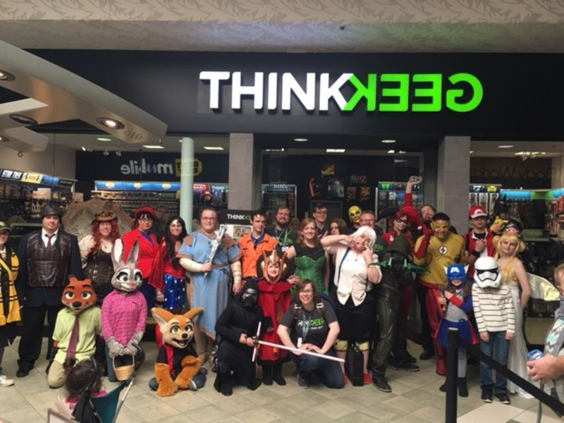 thinkgeek store opening at ocean county mall - Halloween Stores In Toms River Nj