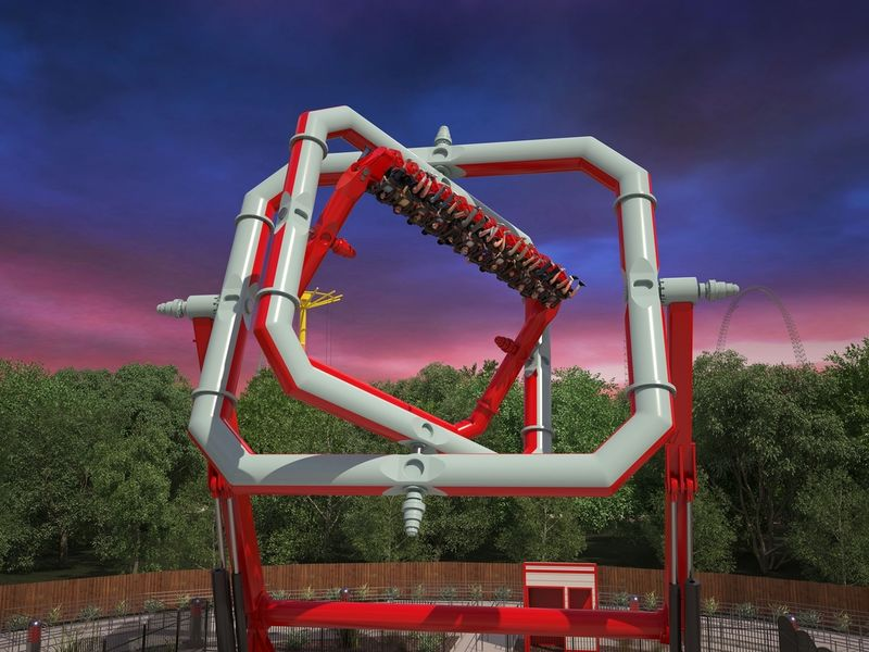 Anti-Gravity Cyborg Ride To Join Six Flags Great Adventure Lineup ...