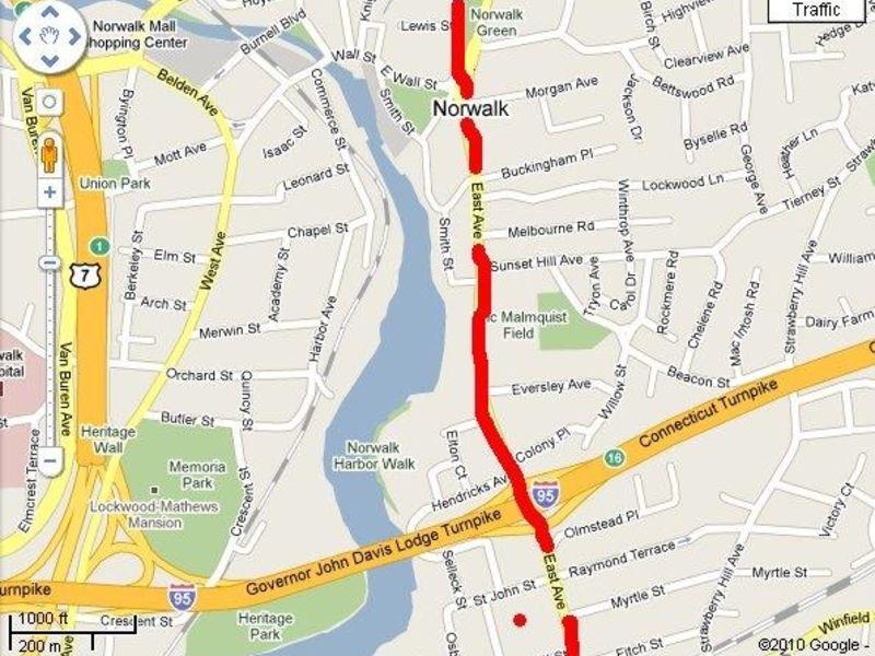Norwalk Memorial Day Parade Road Closures Trumbull CT Patch - Road map of ct