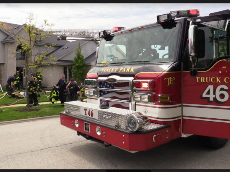 Fire Breaks Out At Tinley Park Home 0