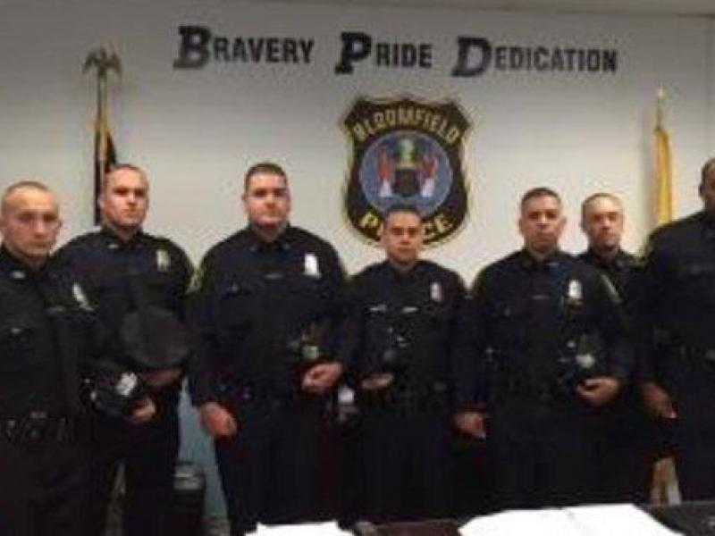 Bloomfield Police Welcome New Officers Recruits