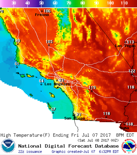 Just Like Summer S First Heat Wave Meteorologists Are Blaming This One On A Weather Pattern Called Four Corners High Named For Its Epicenter At The