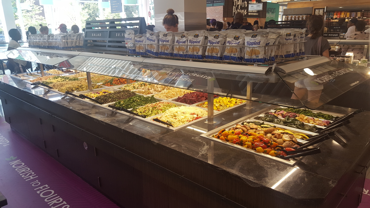 Whole Foods Buffet Options