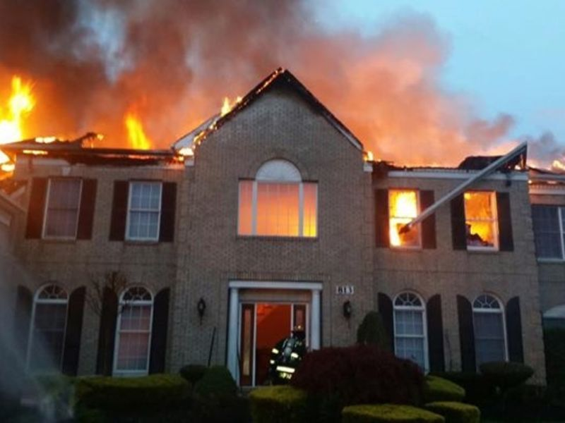 Lightning Strikes Manalapan House, Causes Fire - Manalapan ...