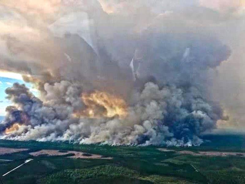 Okefenokee Swamp Fire Raging In South Georgia