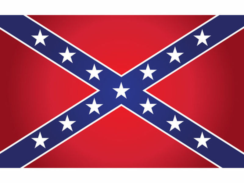 Confederate Flag In Kennesaw Vandalized Again Teacher