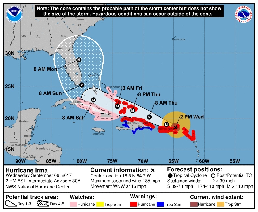 Chances That Hurricane Irma Could Hit Georgia Increase Peachtree - Georgia map hurricane