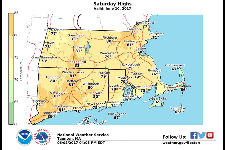 Sunday Is Your Beach Day Those 80s Turn Into 90s Up To The Mid 90s In Fact And There Won T Be Many Clouds In The Sky At All