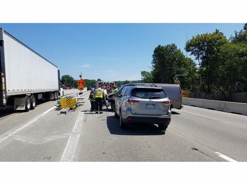I 95 Traffic Crash Results In Heavy Delays Wellesley