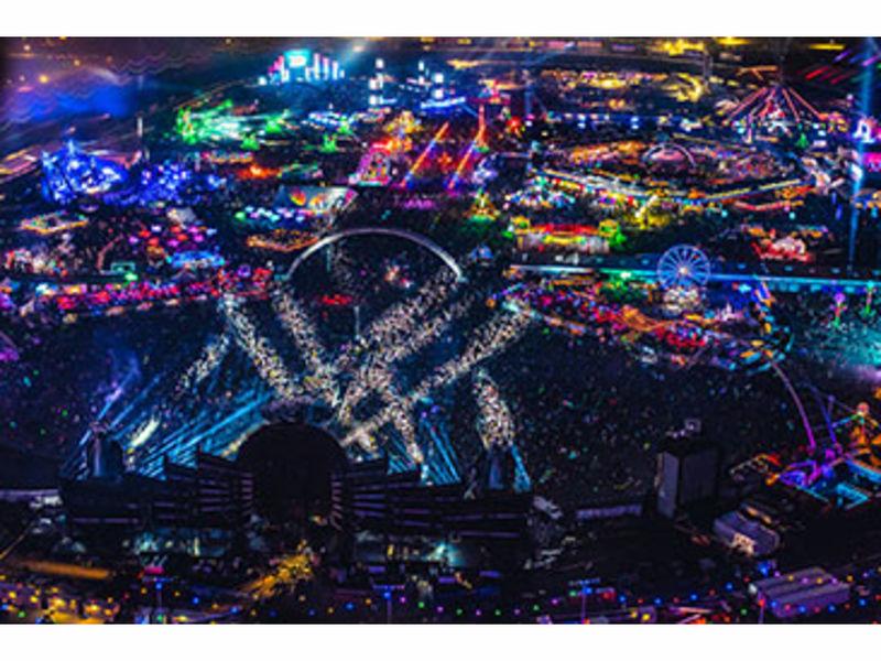 Electric Daisy Carnival Death Reported Las Vegas NV Patch - Edc las vegas map 2016
