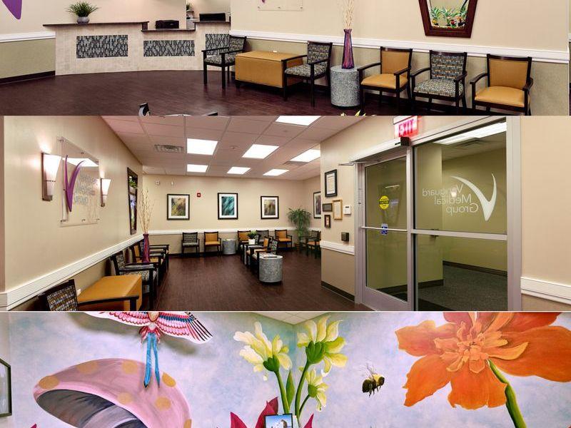 Vanguard Medical Group Receives Award Winning Office Design Cranford NJ