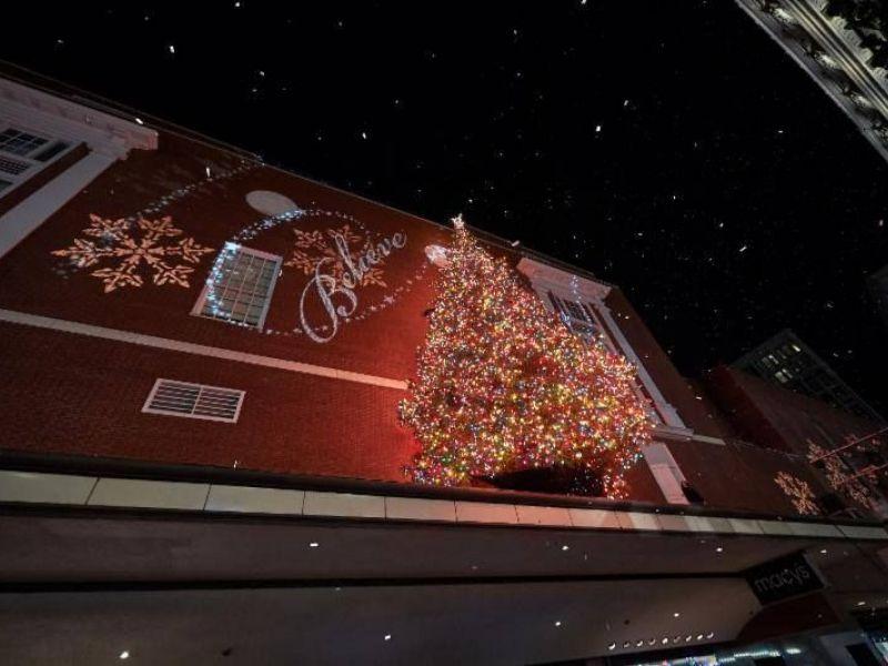 Macy's Tree Lighting Santa Sightings And More Downtown Boston  - Boston Christmas Tree Lighting