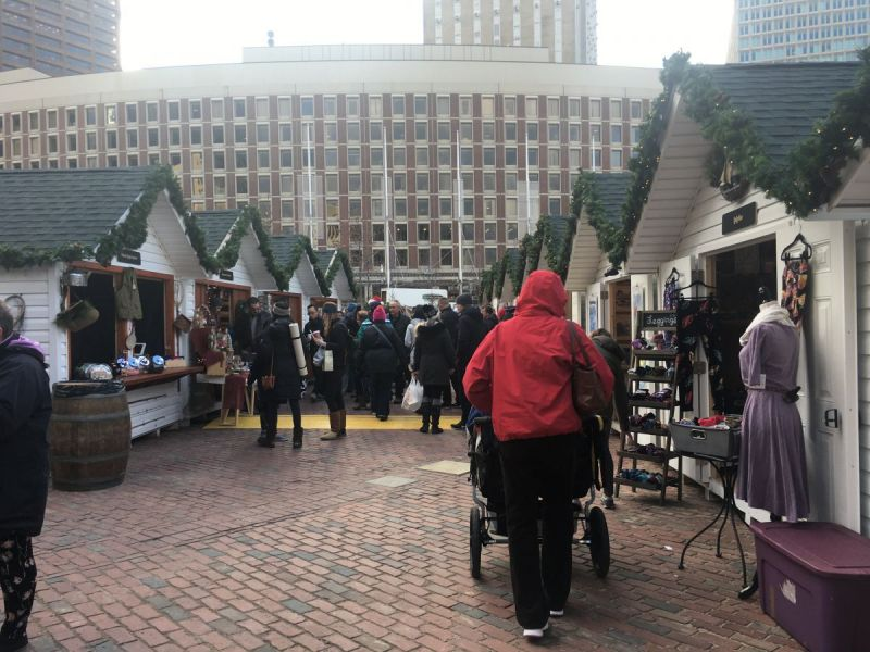 Boston Winter' Wonderland Opens on City Hall Plaza - Boston, MA Patch