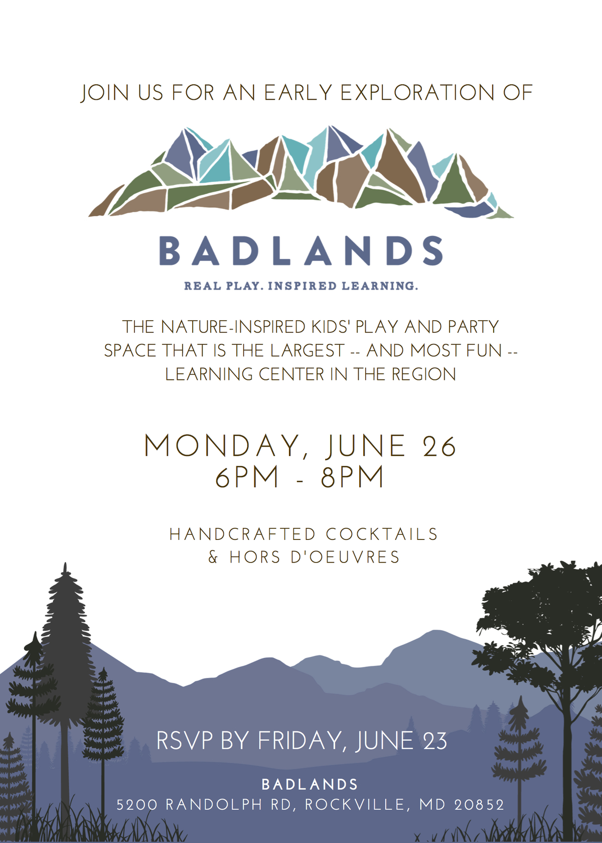 Badlands Playspace To Open In Rockville Rockville Md Patch