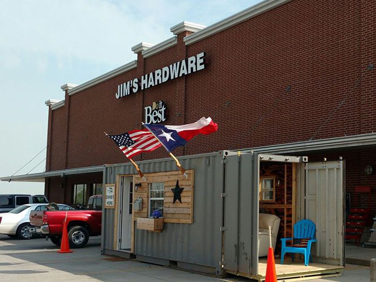 montgomery nonprofit transforms shipping containers into veteran's