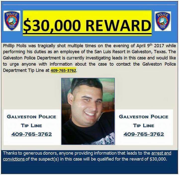 Galveston Security Guard Shot 11 Times, Dies