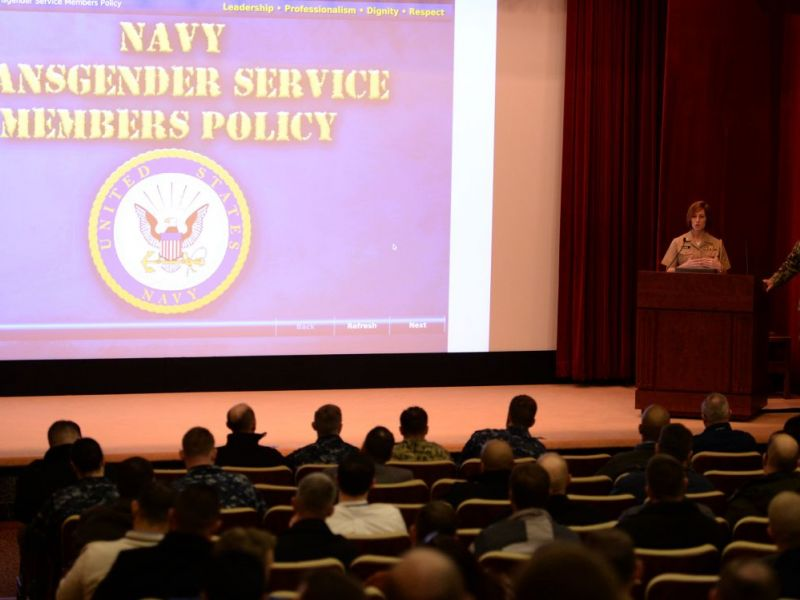 Navy Requires Training on New Transgender Policy