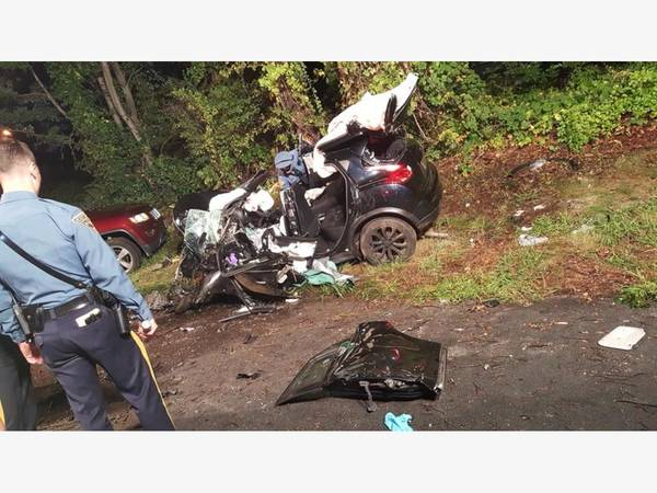 how a state trooper saved a life after a parsippany car crash