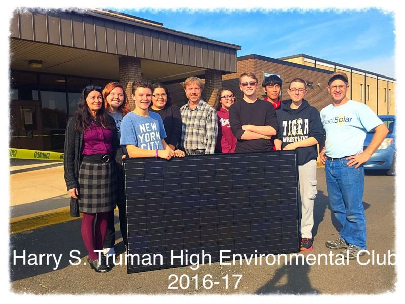 Harry S Truman Hs Goes Green With Solar Panels