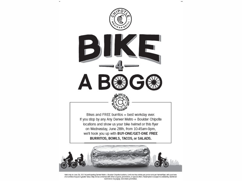Chipotle Locations On Us Map bogo chipotle on bike to work day