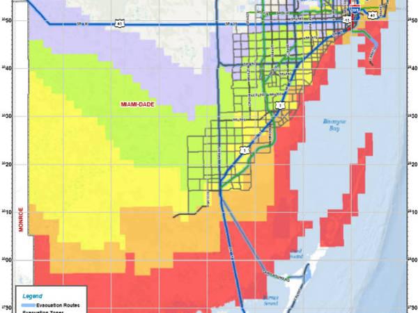 hurricane irma: miami beach best evacuation routes - miami