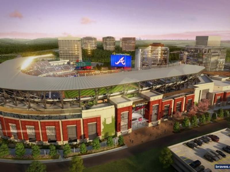 14000 Spaces SunTrust Park Touts Parking Plan