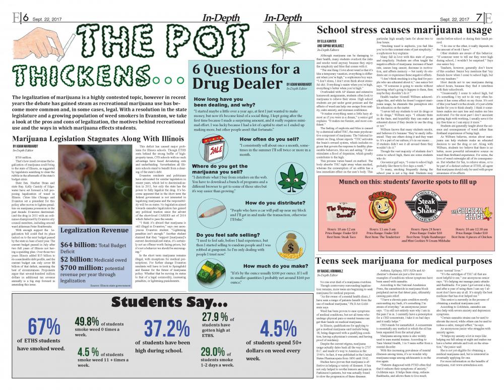 High School Newspaper Confiscated For Marijuana Content