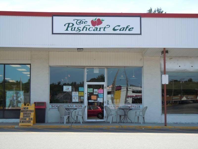 Pushcart Cafe Tewksbury Ma Menu