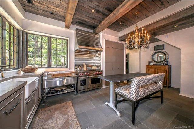 This European inspired WOW house on the market in Plaza Midwood features  reclaimed beams  custom doors  a gourmet kitchen and more. Dream Home Cooking  5 Charlotte Area Homes With Gourmet Kitchens