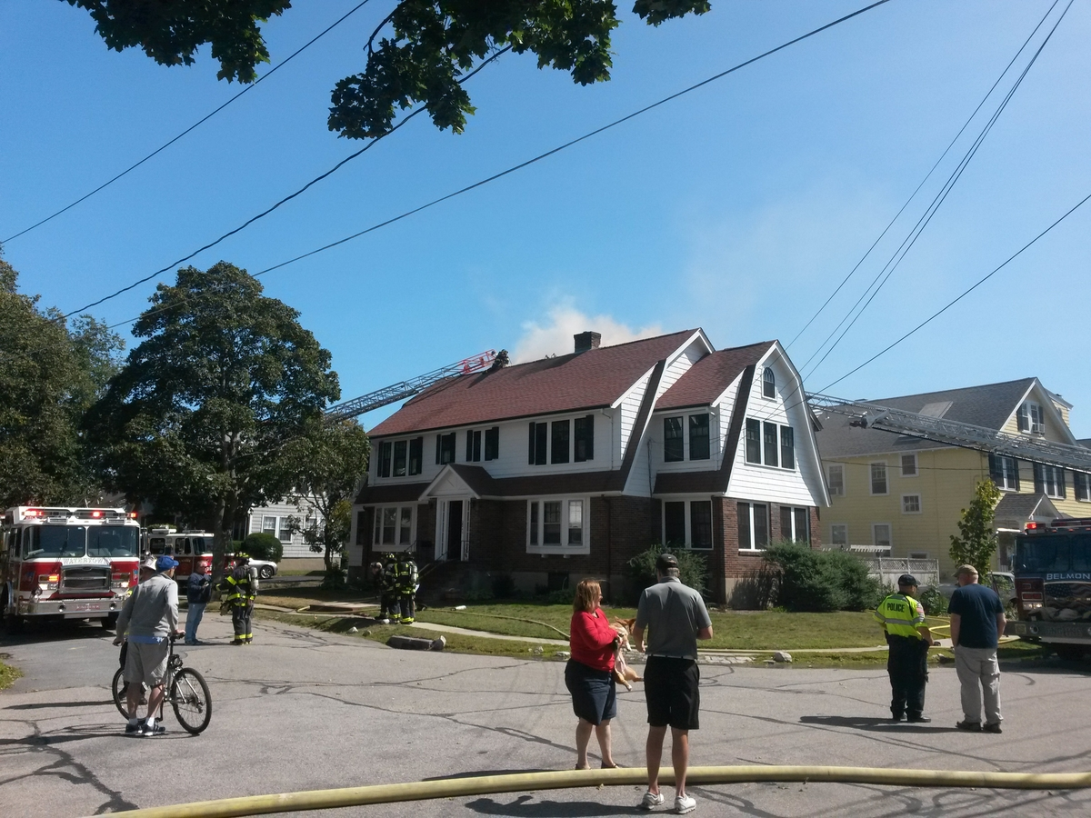 photos of the fire courtesy a patch tipster