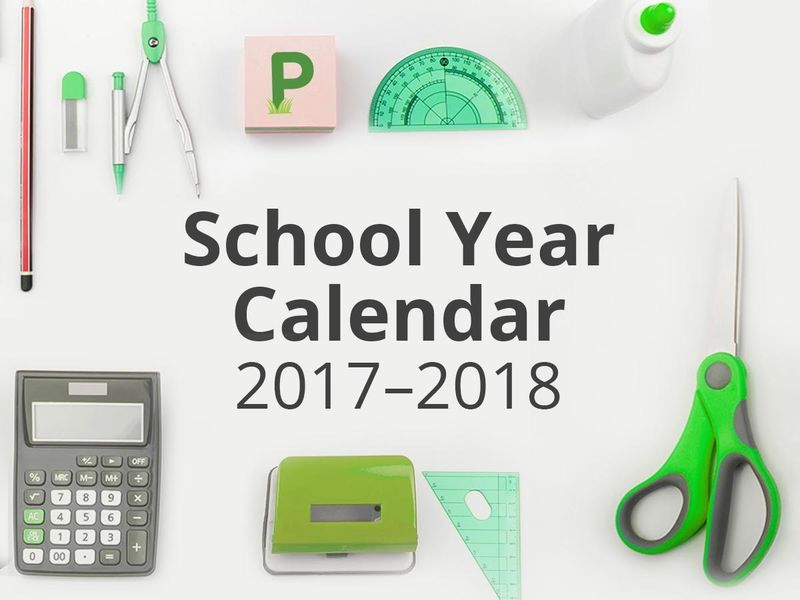 Harrison School Calendar 2017-18: First Day Of School, Vacations