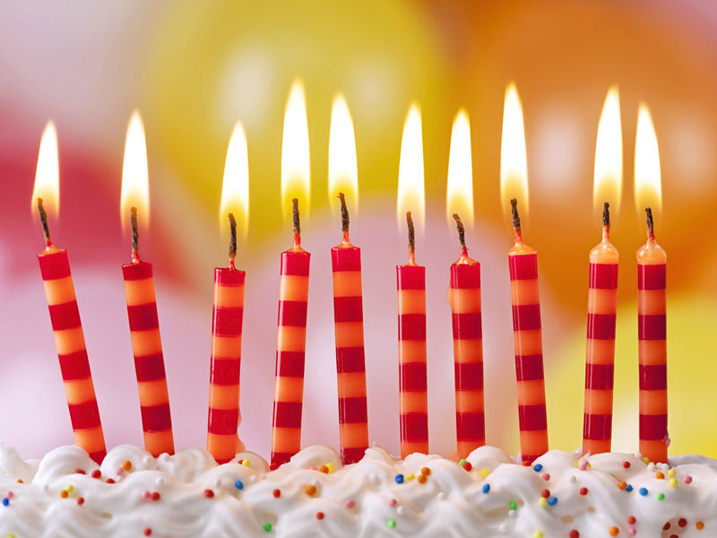 BacteriaFlavored Birthday Cake Study Shows Blowing Out Candles