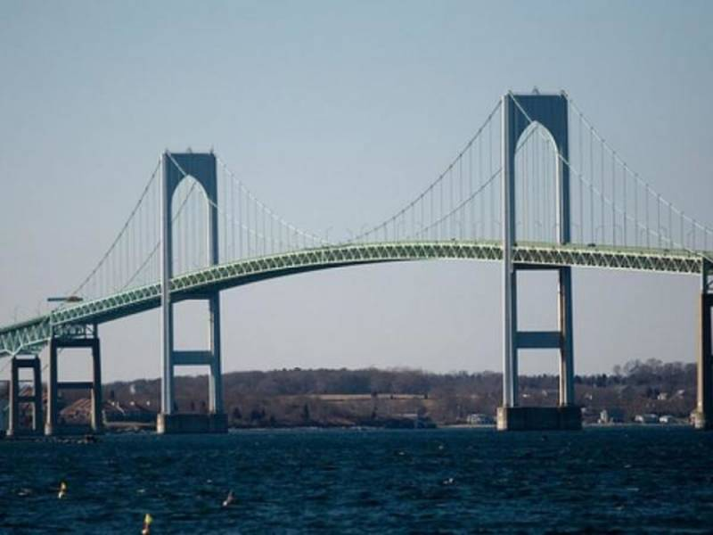 Newport Rhode Island Bridge Construction