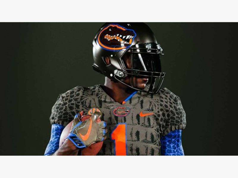 Florida Gators Unveil Swamp Green Alternate Uniforms Twitterverse Melts Down Tampa Fl Patch