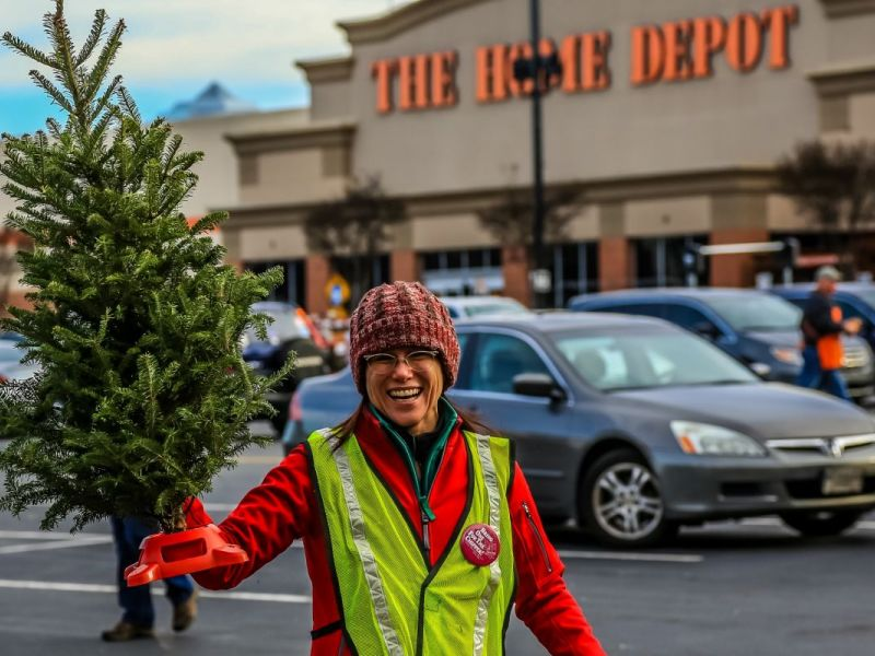 Recycle Your Christmas Tree January 7 at Home Depot! - Smyrna, GA ...
