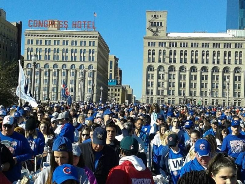 Cubs World Series Parade and Rally About 5M People Pack Chicago