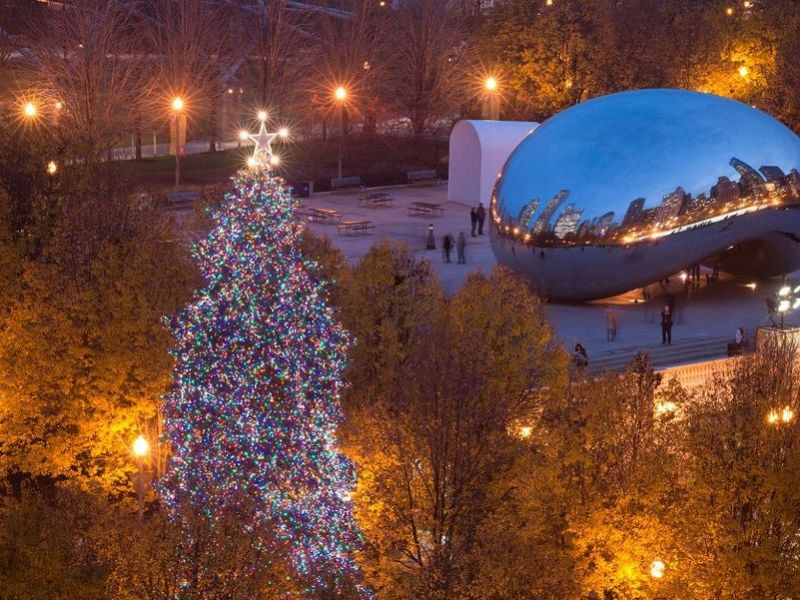Chicago Christmas Tree Lighting Ceremony: When to See It and Where ...