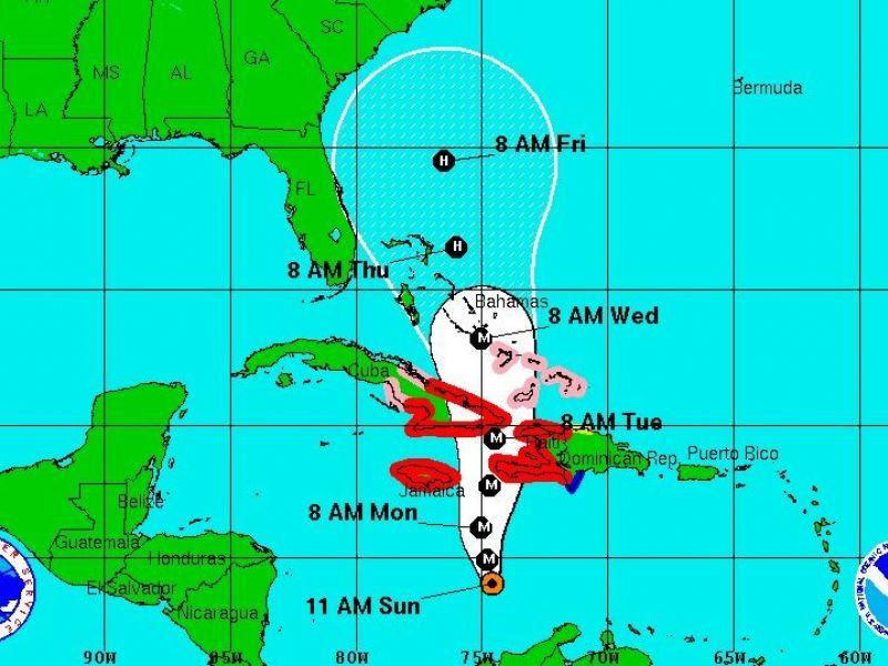 Hurricane Matthew Heads North Southeast U S Prepares For Unclear Path