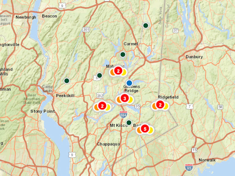 Nyseg Customers Report Outages Sunday From Nor Easter