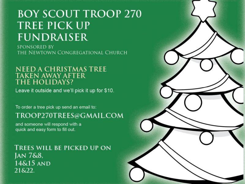 BSA Troop 270 Annual Christmas Tree Pickup - Newtown, CT Patch