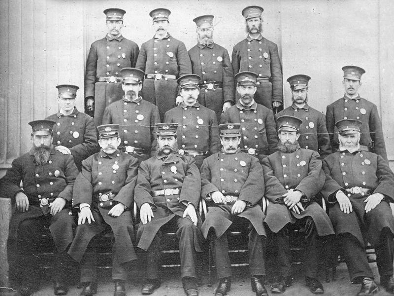 Brookline History Police Department Circa 1878