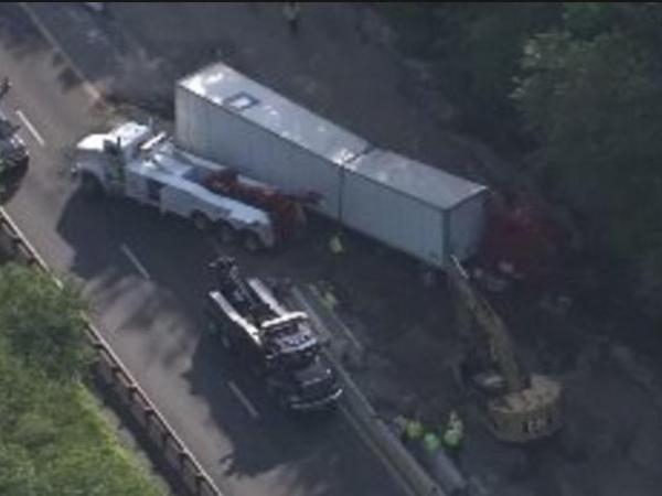 New Jersey Truck Crash