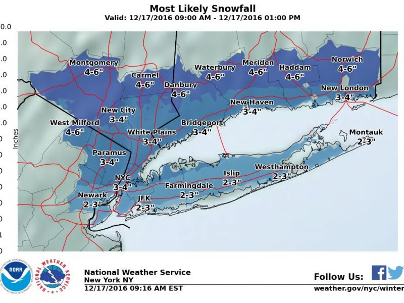 Rest Of The Weekend Weather For Rockland