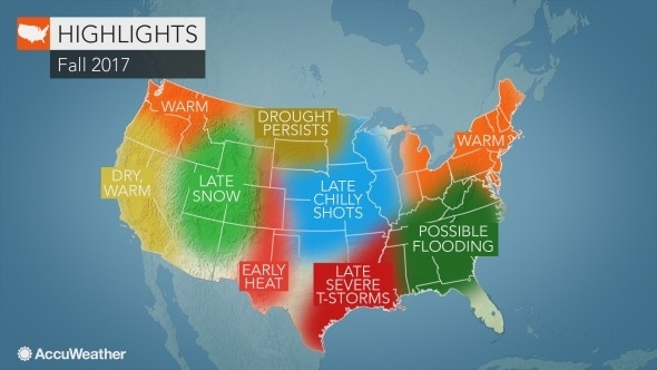 Soon To Tell How These Predictions If They Come True Could Affect Fall Foliage According To Accuweather S 2017 Fall Forecast The National Weather