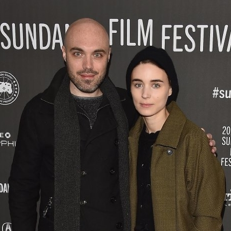 """David Lowery and Rooney Mara attend the world premiere of """"A Ghost Story"""" during the 2017 Sundance Film Festival. (Photo by Alberto E. Rodriguez/A24)"""
