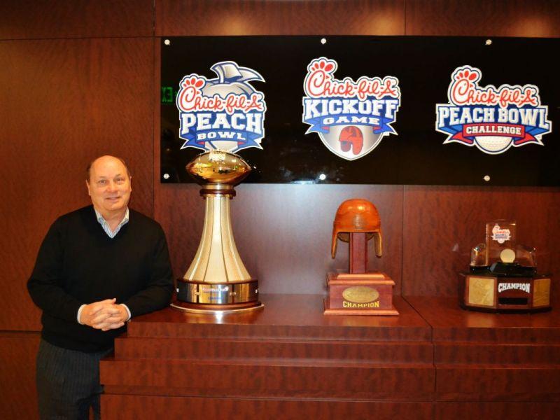 Mercedes South Atlanta >> Chick-Fil-A Peach Bowl President & CEO Gary Stokan Takes ...